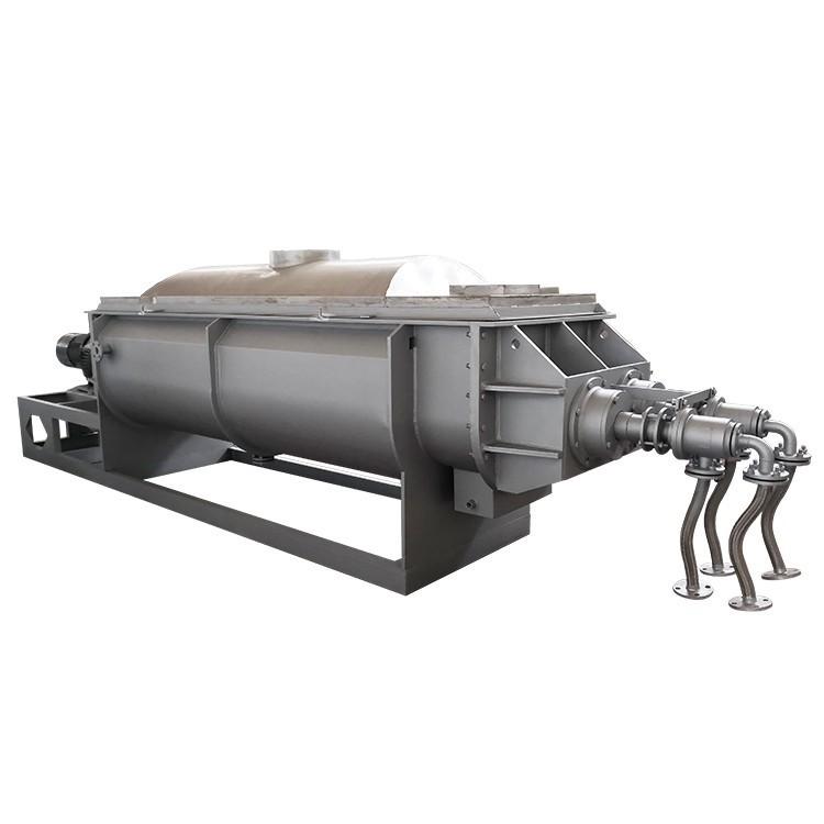 污泥烘干设备天泽牌空心桨叶干燥机温度