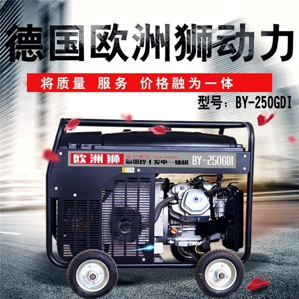 300A汽油发电电焊机单位应急