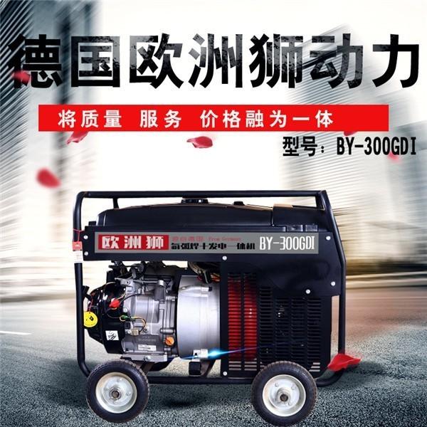 220V190A汽油发电电焊机油田