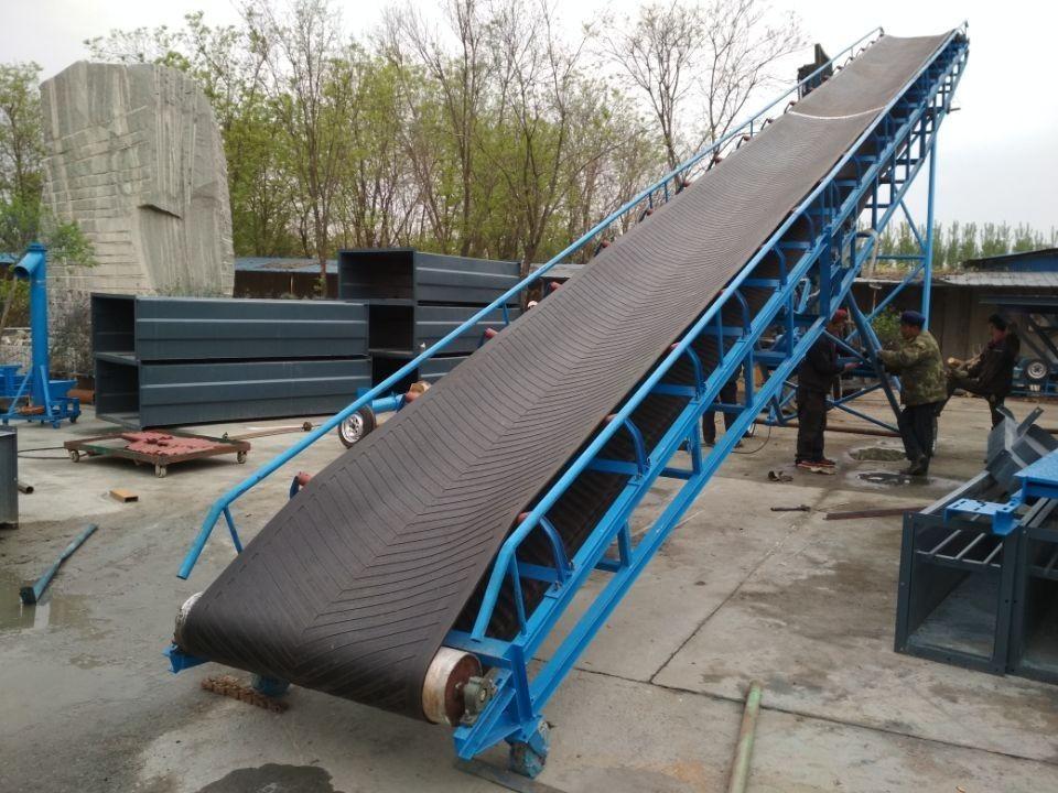 升降式装车输送机  带式装卸车输送机图纸M5