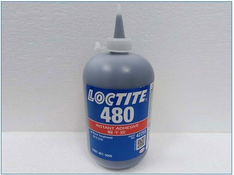 乐泰480 中等粘度瞬干胶 500g 耐冲击 耐振动 耐剥离及耐热性能