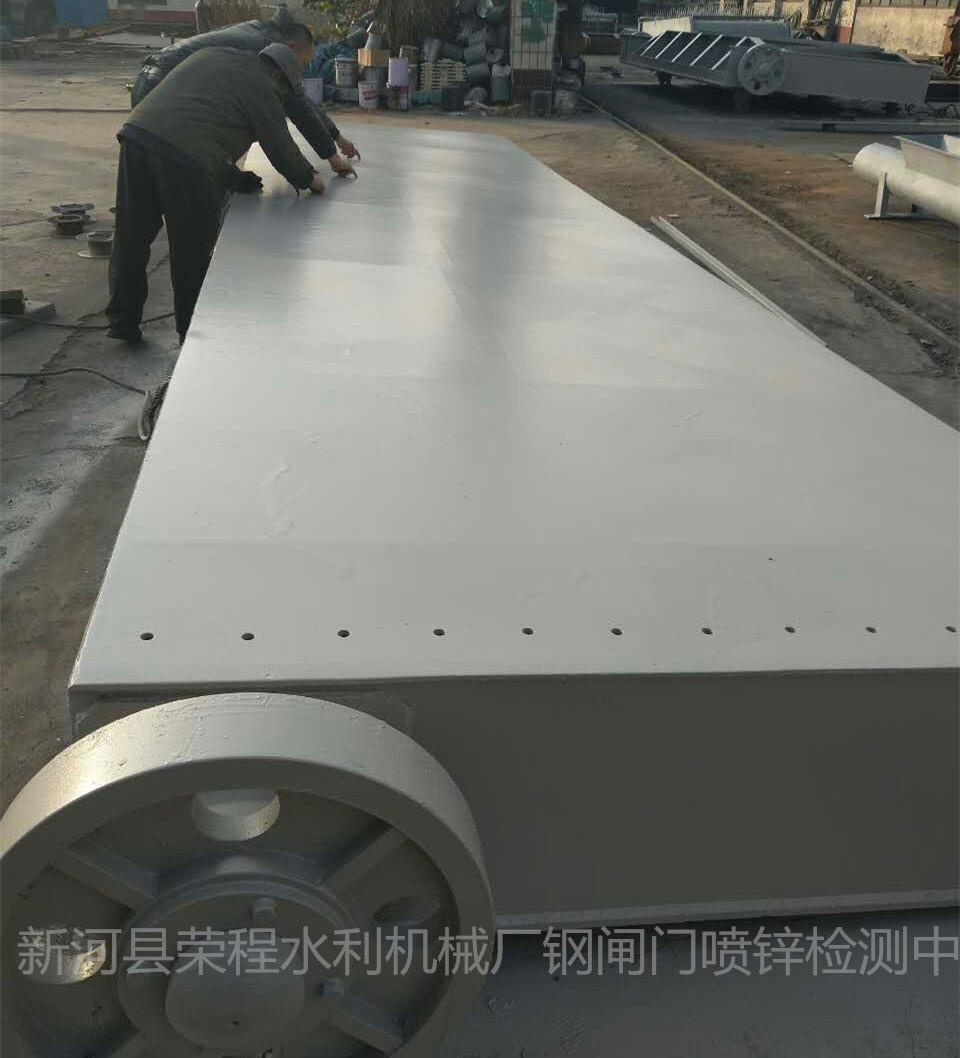 河北升卧式钢闸门型号