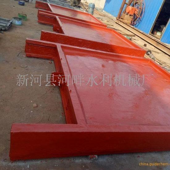 南京渠道机门一体式钢制闸门0.6米乘以0.6米