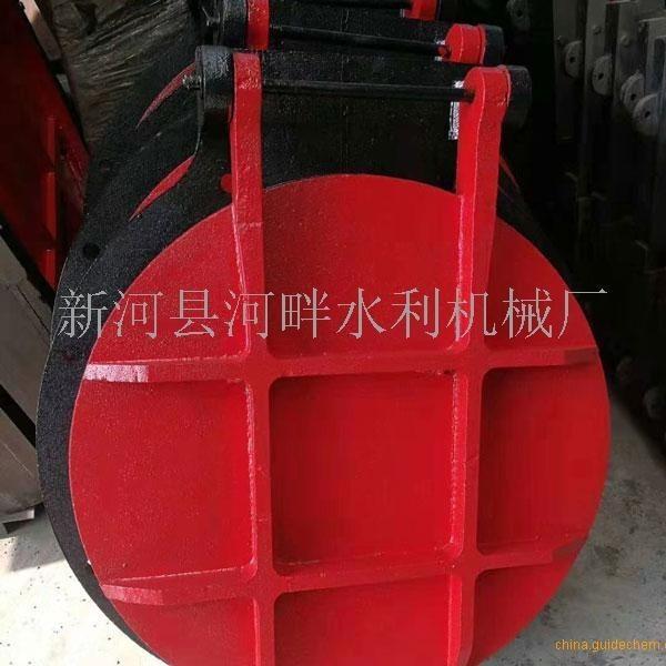 苏州1*1米单向铸铁闸门+2T侧摇螺杆启闭机价格