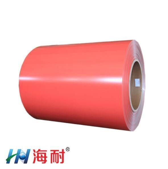 江苏直销海耐覆膜彩钢板高品质覆膜金属板