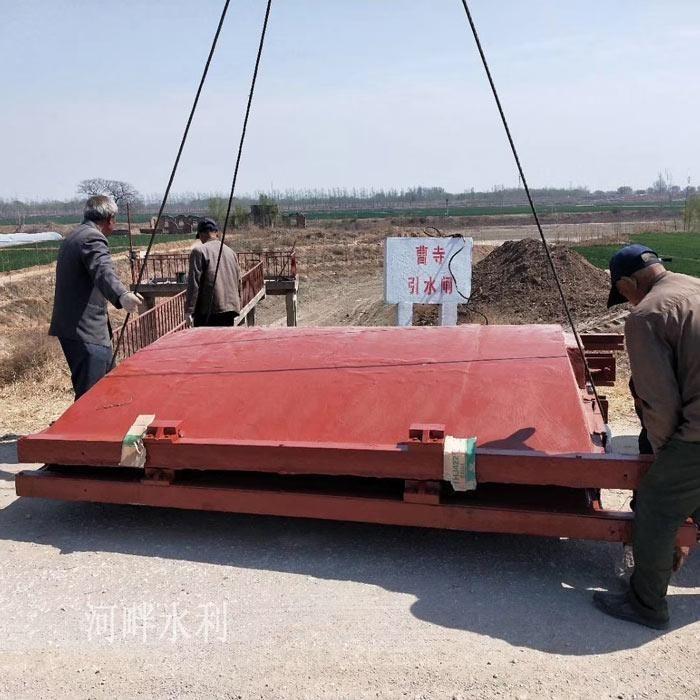 天津PGZ2000*2000铸铁闸门安装方案