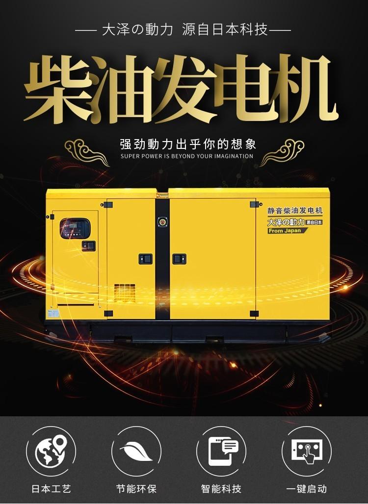 20kw全铜水冷柴油发电机