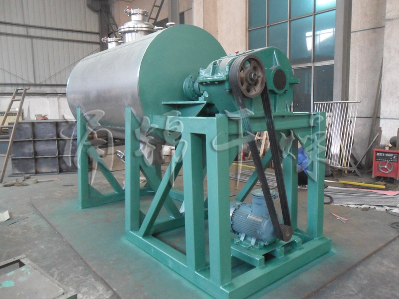 碳酸钙耙式干燥机的使用