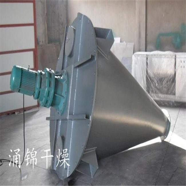 可可粉专用锥形双螺杆螺旋混合机