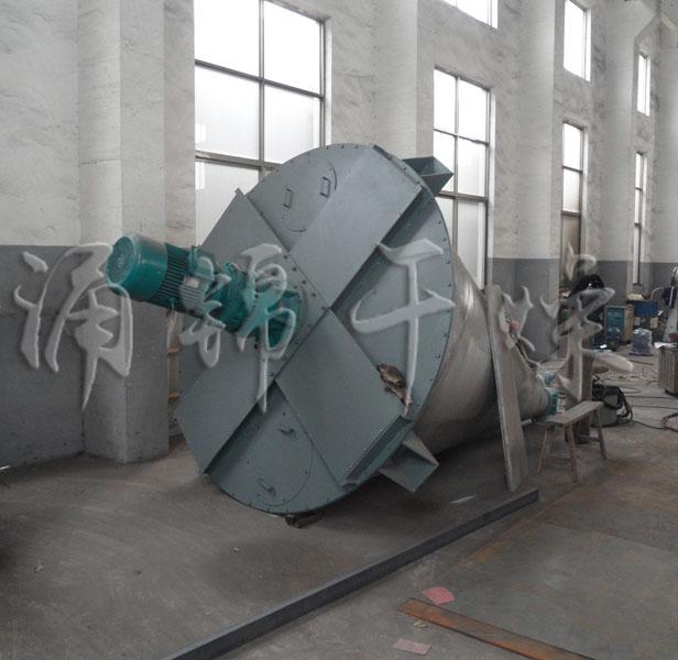 专业提供骨粉专用锥形双螺杆螺旋混合机