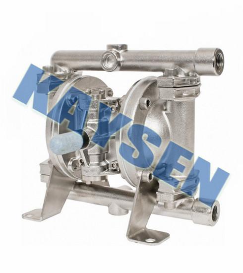 进口不锈钢气动隔膜泵(进口隔膜泵品牌)
