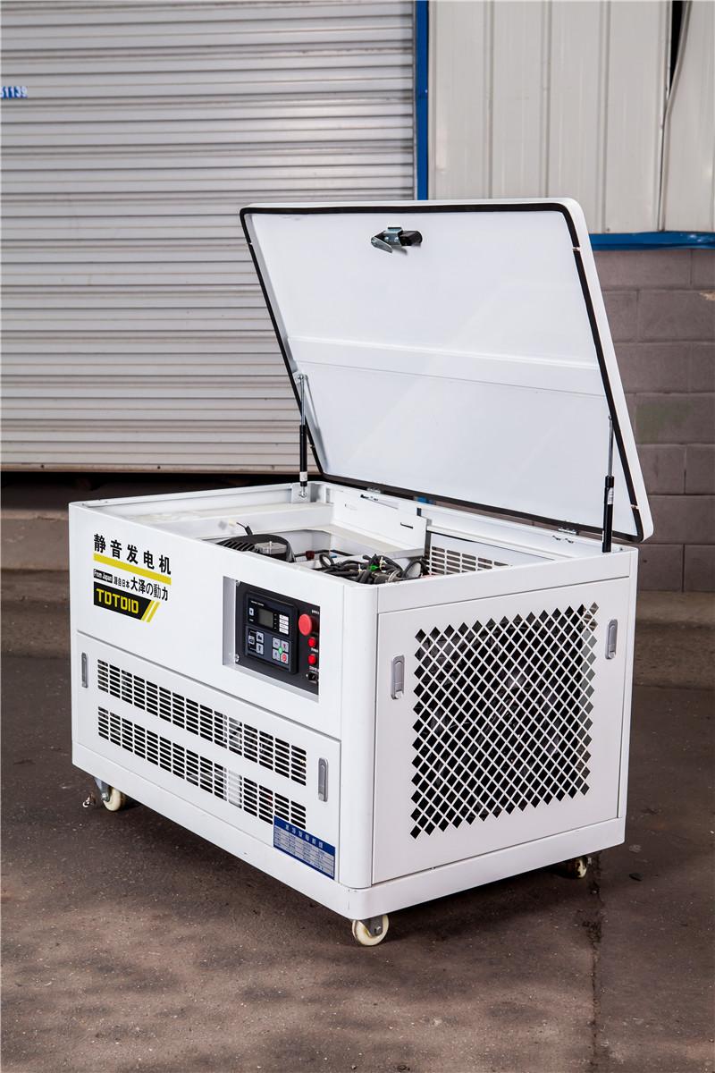 25千瓦静音汽油发电机*用