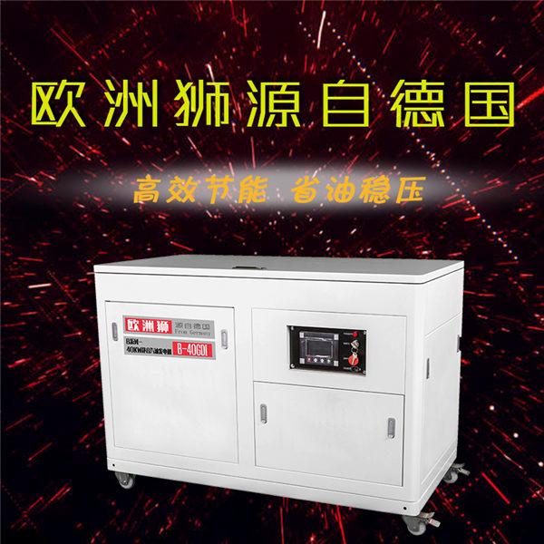 电源设备40kw静音汽油发电机