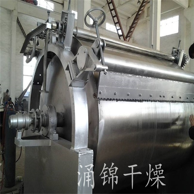 钠盐专用单滚筒 滚筒刮板干燥机