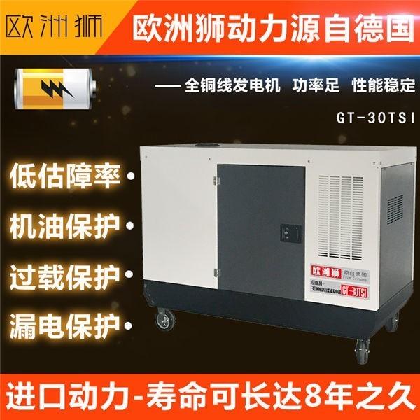 移动便携式20kw柴油发电机组