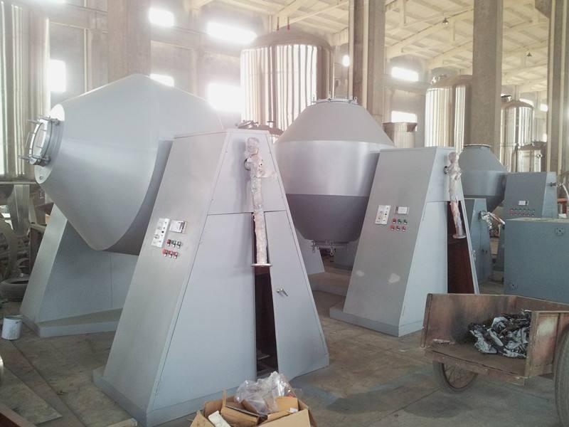 方便面调料包双锥真空回转干燥机