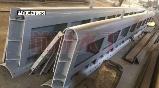 前进平板钢闸门定制 弧形钢闸门安装 底轴驱动钢闸门结构