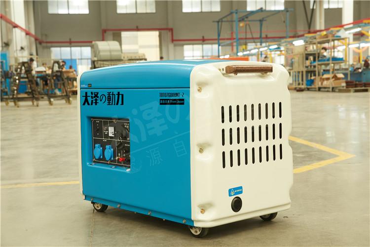 5千瓦小型柴油发电机参数表