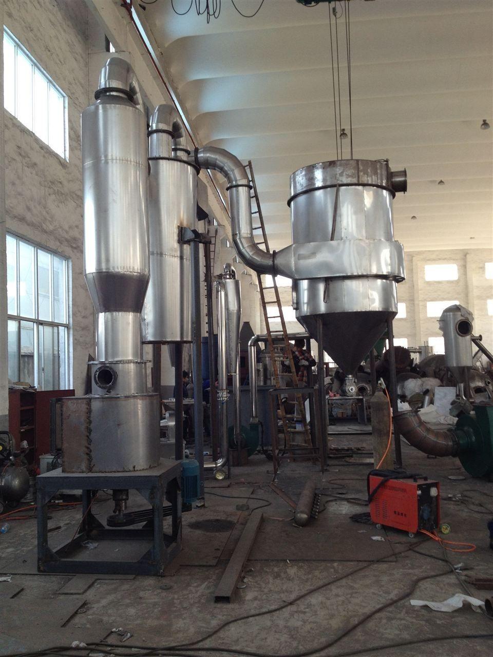 专业提供氧化铁专用旋转闪蒸干燥机