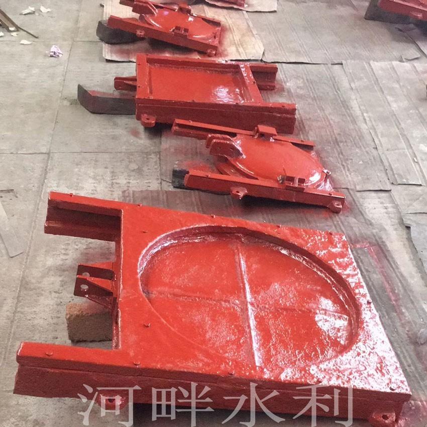 惠州水库300*300斜拉式铸铁闸门