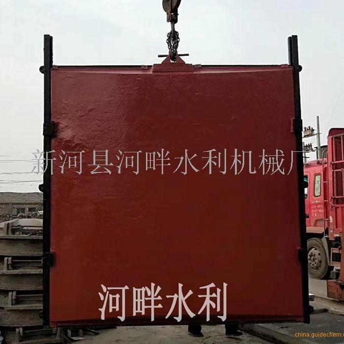 常州1米*1米双向止水铸铁闸门