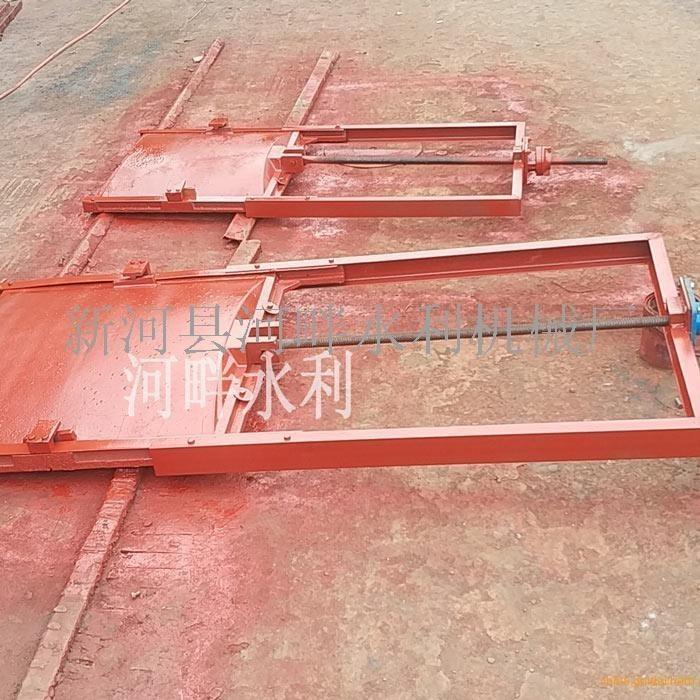 上海箱涵式2米×2米铸铁闸门价格