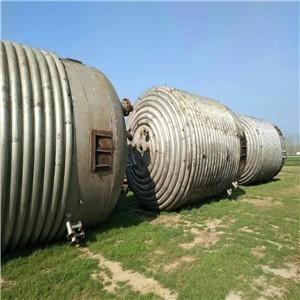 回收闲置二手10吨30吨不锈钢反应釜
