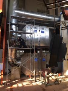 家具厂喷漆房废气处理设备 汽车烤漆废气处理设备