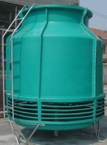 石家庄冷却塔生产厂家/逆流式玻璃钢冷却塔价格 产品图片