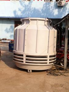 石家庄冷却塔生产厂家/圆型逆流式玻璃钢冷却塔价格 产品图片