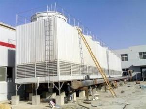 唐山冷却塔厂家/横流式玻璃钢冷却塔价格 产品图片