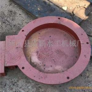 水库钢制拍门工作原理