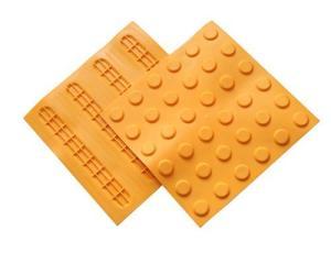供應四方形PVC塑膠盲道磚 條型盲道塊河北廠家全國低價批發