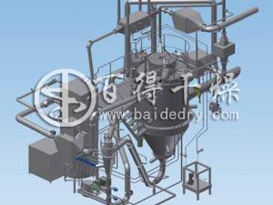 闭式循环喷雾干燥机  溶剂蒸发喷雾干燥机