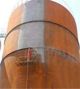 儲油罐防腐除銹噴砂機