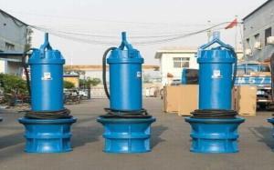 浮筒式轴流泵应急抢险可移动
