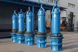 天津QZB立式潛水軸流泵井筒式雪橇式立式臥式