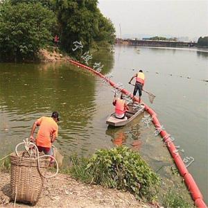 河道拦截浮漂介绍 塑料挡渣清漂浮体施工方案
