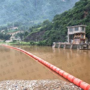 取水口实心填充拦垃圾塑料浮筒装置批发