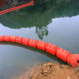 直径40公分拦漂排 水上清渣夹网塑料浮栅产品介绍