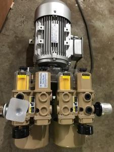 無油真空泵WZB120-P-VB-03通用復合型雙泵印刷機用替代好利旺