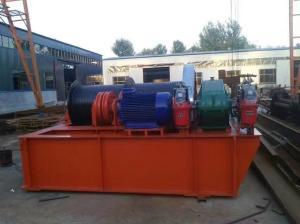 40吨卷扬式启闭机用于水库灌区河道堤堰