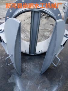 不锈钢拍门 dn1米不锈钢拍门厂家供应