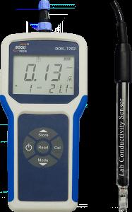 便携式电导率仪/TDS/盐度/电阻率仪DDS-1702型-博取仪器