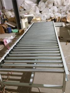 双层动力滚筒输送线生产 倾斜输送滚筒 汇科