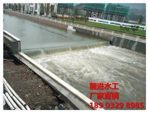 液压旋转钢坝工作原理与适用范围