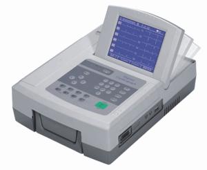 十二导联心电图机价格 国产东江机器显示屏0-80度翻转 产品图片