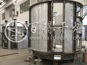 年产10000吨硫化促进剂DZ防爆干燥机    二甲苯真空盘式干燥机