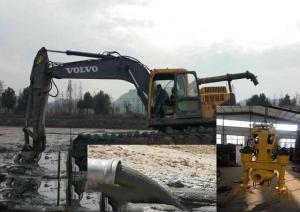 挖機液壓驅動泥漿泵,石油化工液壓渣漿泵