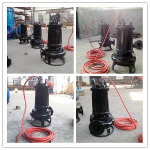 耐腐蚀化工清淤泵、高温排沙泵、矿用潜水搅拌渣浆泵